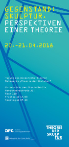 Das Programm für die Tagung